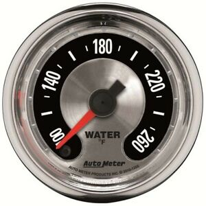 Autometer 1232 American Muscle Mechanical Water Temperature Gauge