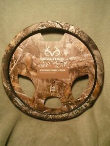 Realtree Edge Antler Steering Wheel Cover Camouflage Polyester Material 2016 New