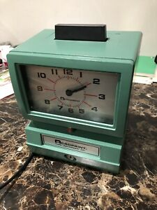 Acroprint Manual Time Recorder Card Punch