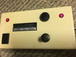 Huber Laser Time Switch Timer Controlled Adjustment X ray Diffraction
