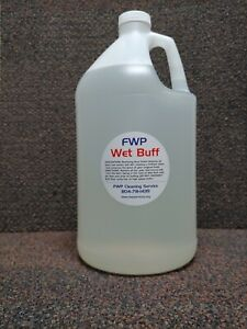 Spray Buff Restorer renewing Floor Finish Wax Polisher Case Of 4 1 gal Jugs
