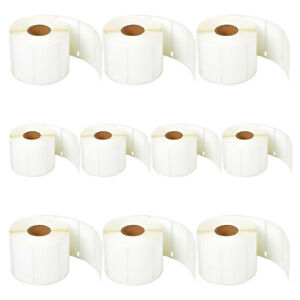 10rolls Of 1500 Price Tag Labels 2 up For Dymo Labelwriter 30299 Se200 Ascii 250