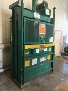 Loadking Load King 60 Vertical Cardboard Compactor Recycling Baler Bailer