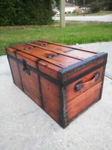 Early 1870 S Carriage Trunk