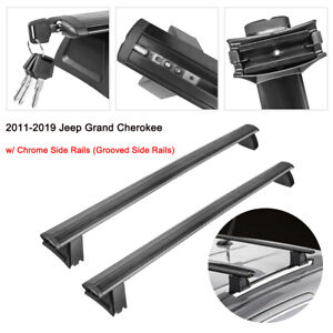 Luggage Roof Rack Cross Bars For 2011 2019 Jeep Grand Cherokee W Side Rails