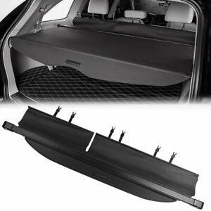 Retractable Cargo Cover Oe Style Luggage Shade For 2014 2018 Toyota Highlander