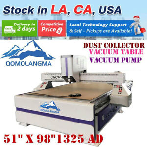 Usa 220v 1325 Multifunctional Cnc Router vacuum Pump vacuum Table dust Collector