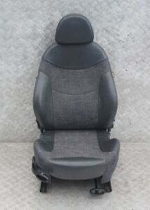 Bmw Mini R50 Sport Front Right O s Half Leather Seat Kaleido Panther Black