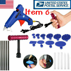 Variety Suits Car Auto Panel Dent Paintless Repair Removal Tools Kit Us Stock