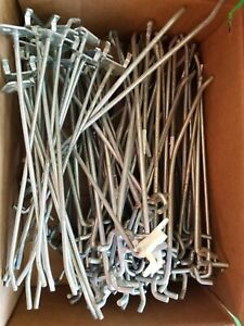 lot 2 10 Peg Board Hangers total Of 82 Used free Shipping