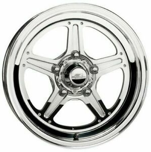Billet Specialties Street Lite Polished 5x4 5 15x7 Inch Wheel Bs 4 5 Inches