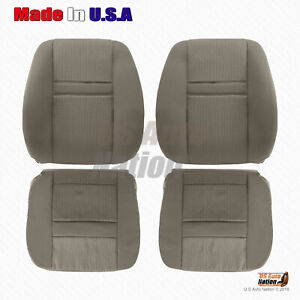 2006 2007 2008 2009 Dodge Ram Front Bottoms Or Tops Cloth Seat Cover Khaki Tan