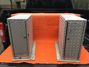 5 Drawer Diamond Plate Tool Boxes With Keys