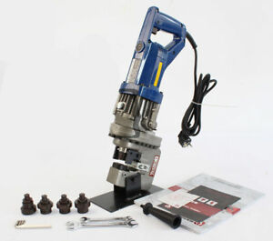 Mhp 20 Electric Hydraulic Hole Puncher Steel Plate Hole Punching Machine Ax