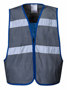 Portwest Cv01 Reflective Mesh Safety Work Vest With 8 Hour Cooling Capabilities