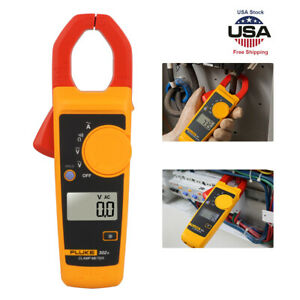 Electronic Fluke 302 Handheld Digital Clamp Meter Ac dc Multimeter Tester Tool