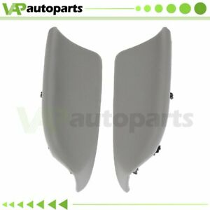 For Honda Accord 2008 2012 Pair Gray Door Panels Armrest Cover Front Left Right