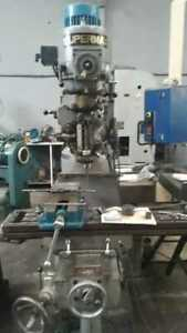 Supermax Ycm 1 1 2 V 3 axis Vertical Mill