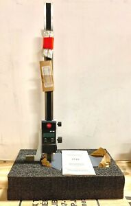 Mahr Federal 12 Electronic Height Gage 0005 01mm Resolution 4123700