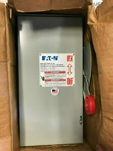 Cutler Hammer Dh361urk 3p 600v 30 Amp Non Fused 3r Disconnect Switch New