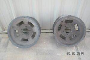 Vintage Halibrand Magnesium Wheels Ford 1932