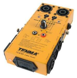 Tenma 72 8785 Universal Audio Video Cable Tester 9 Plug Types