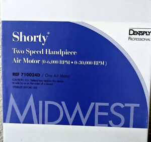 Midwest Shorty Two speed Air Motor Dentsply 710024d