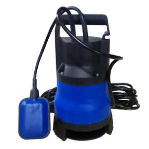 1 2 Hp Submersible Water Pump Clean Clear Dirty Swimming Pool Pond Flood 2000gph