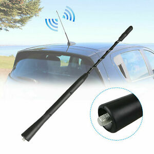 9 Auto Aluminum Car Roof Stereo Am Fm Radio Antenna Signal Amplifier Booster Us