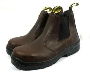 Stanley Dredge Steel Toe Industrial And Construction Boots Men s Size 10 Brown