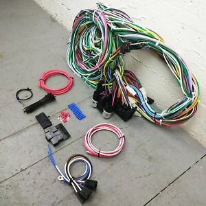 1940 1946 Chevy Truck Wire Harness Upgrade Kit Fits Painless Update Fuse Block