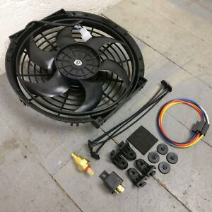 1980 Ford Ln600 10 Inch Black Radiator Fan Cooling Electric Automotive Fast