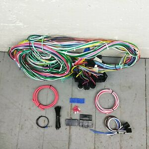 1973 1976 Dodge Charger Wire Harness Upgrade Kit Fits Painless New Fuse Block