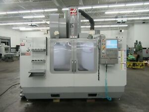 Haas Vm 3 Cnc Vertical Machining Center With 40 Station Side mount Atc