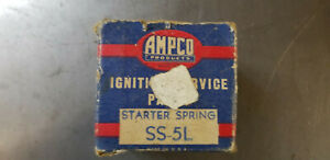 Nos Ford 1928 1931 Ford Model A Starter Drive Spring Ampco Ss 5l