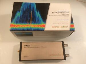 Signal Hound Bb60c 9khz 6ghz Spectrum Analyzer Opt 1 wlan S w Antenna