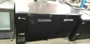 Saba Undercounter Back Bar Cooler 27 Depth