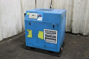 10 Hp Eaton Rotary Screw Air Compressor Yoder 69738