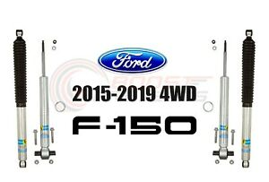 Bilstein B8 5100 Adjustable Front Shocks W Rear Set For 2015 19 Ford F 150 4wd