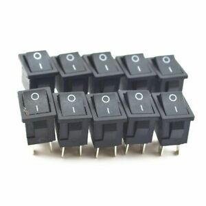4 Pin On off 2 Position Rectangle Switch Dpst Rocker Switches For Boat Car Auto