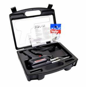 Weller Professional Soldering Gun Kit Fingertip Trigger D550pk Case Included