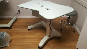 Medical Instrument Table Handicap Approved Power Height Adjust