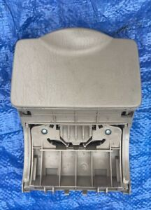 03 08 Toyota Corolla Rear Seat Cup Drink Holder Back Center Console Mounted Gray