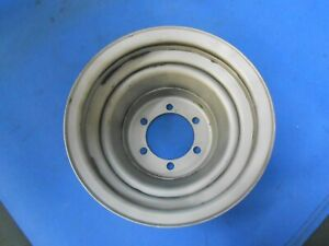Original Mopar Crank Pulley 36143 S Plymouth Chrysler Dodge Two Groove Dodge