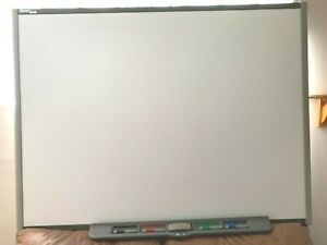 Smart Board Sb680 77 Interactive Whiteboard Refurbished Very Good Cond Bundle