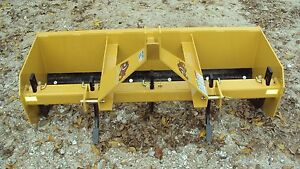 New 3pt 5 5 Hd Box Blade Sbx65 With Ripper Teeth