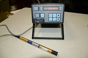 Met One 237b Laser Particle Counter With A 085a Probe Hach