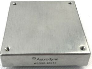 Astrodyne Asd50 48s15 Modular Dc dc Converter Isolated Regulated 25 To 50w