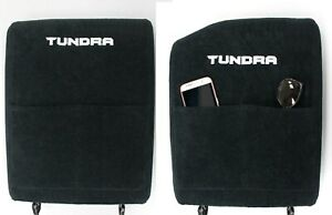 Fits Toyota Tundra 2014 2019 Center Console Lid Cover Black Embroidered Armrest