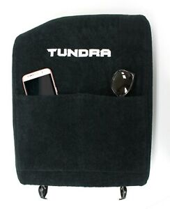 Fits Tundra 2007 2013 Center Console Lid Cover Black Embroidered Armrest